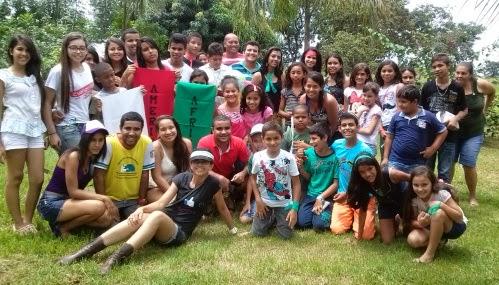 Intercâmbio da IAM em Figueirópolis (TO)