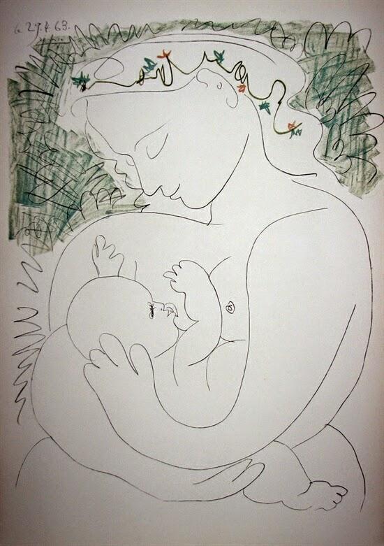 La Grande Maternité, 1963, Pablo Picasso