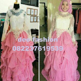 Dee Fashion Butik Gaun Pesta Glamour Eksklusif Rose Party