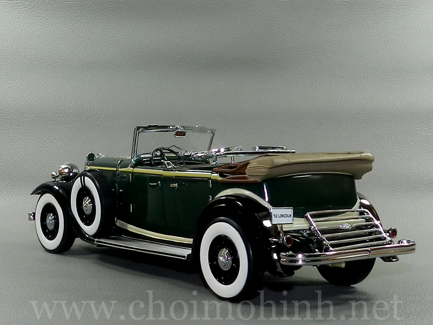 Lincoln KB 1932 1:18 Sun Star The Platinum Collection back