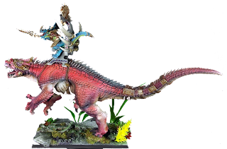 Expertly painted White Dwarf features Carnosaur