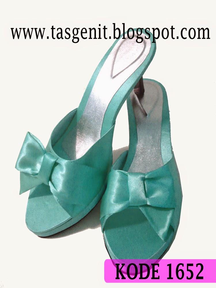 sepatu pesta, sepatu wedding, sepatu pengantin, sandal kebaya