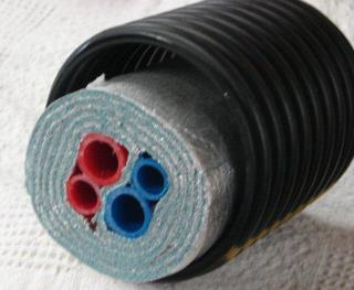 Underground PEX Plumbing Feed/Return Combo Pipe Medium Grade & Underground Insulated Pipe