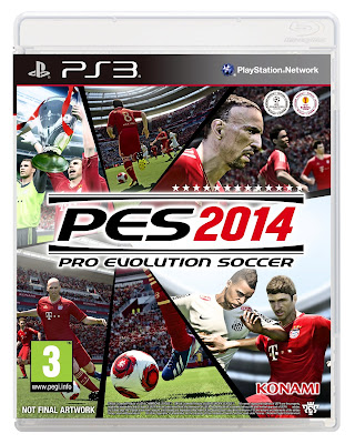 PES 2014 Cover Art - NOT FINAL