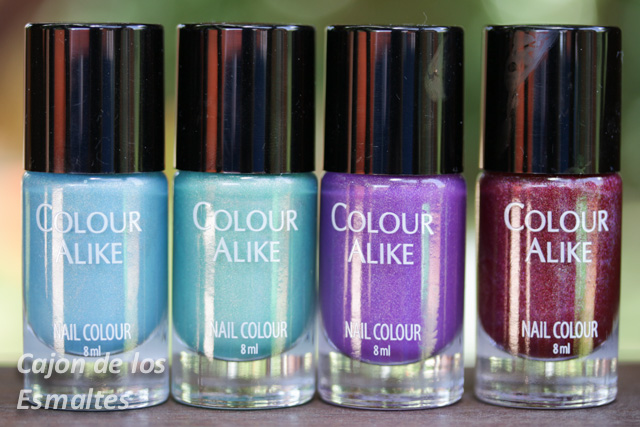 esmaltes colour alike