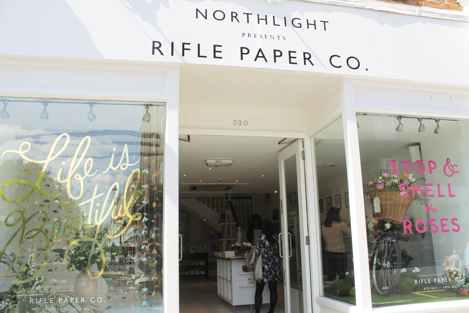 rifle paper co pop up london kings road