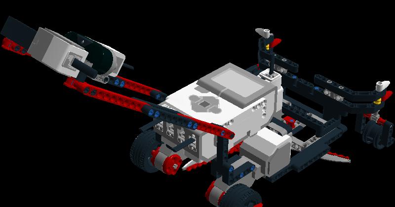 Lego Mindstorms Basic Robot Building Instructions