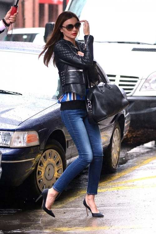 Street Style - Miranda Kerr, Model off Duty