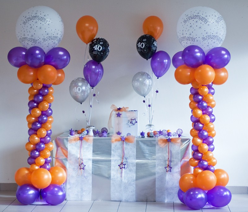 Cómo Decorar un Baby Shower con Globos