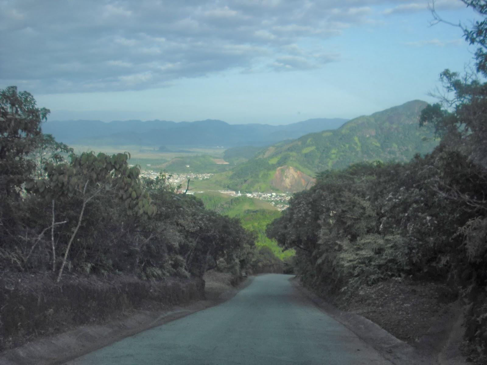 Foto tirada no Morro do Santo Antônio