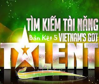 Vietnam's Got Talent – Tìm Kiếm Tài Năng [Bán Kết 5 - 1/4/2012] VTV3 Online