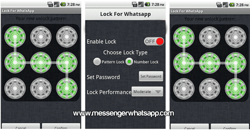 Protege tus conversaciones de chats con Lock for WhatsApp
