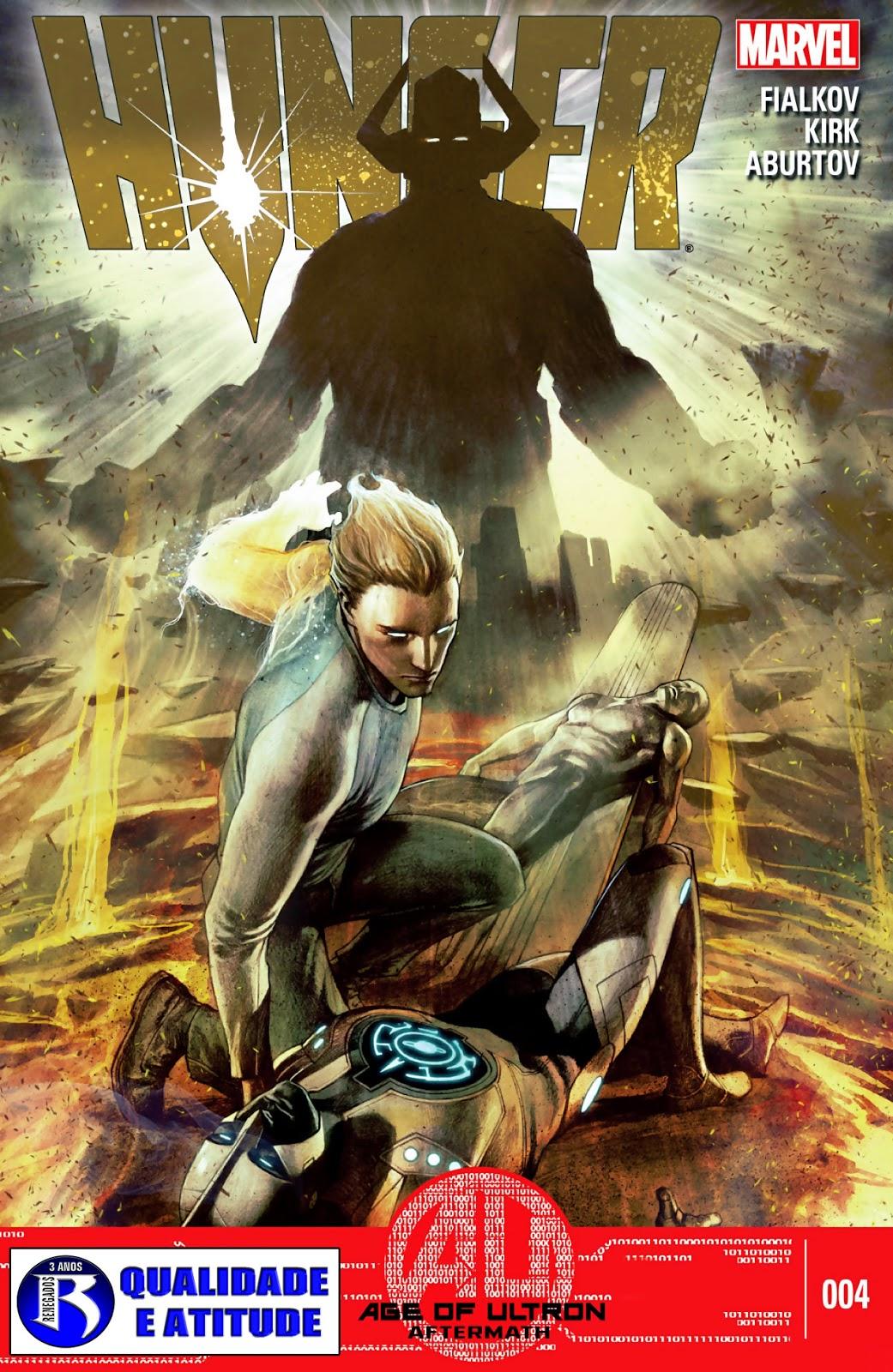 Nova Marvel! Faminto #4 (Opcional)