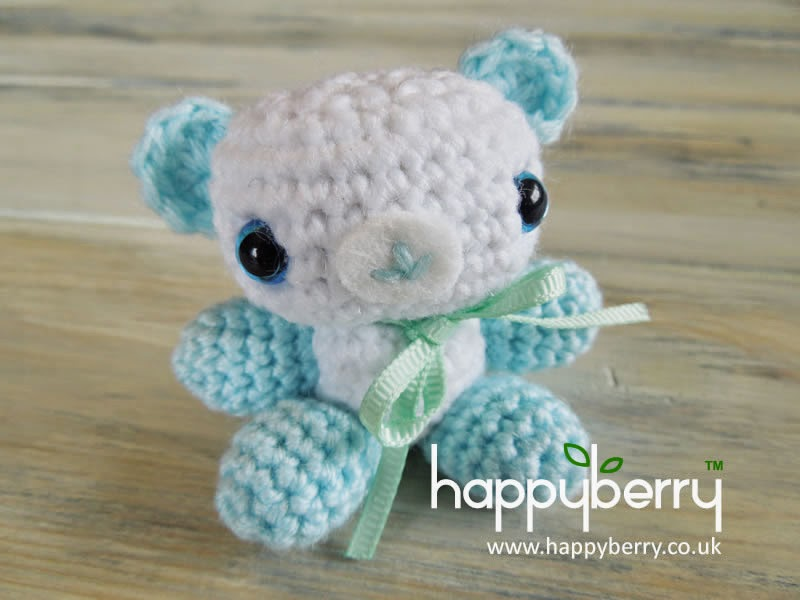 Amigurumi Baby Shower Bears : Happy Berry Crochet: How To - Crochet Amigurumi Baby ...