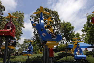 copter ride at legoland