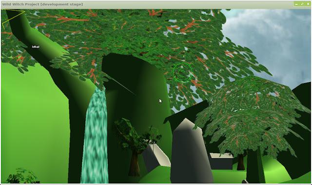 Primeira fase da modelagem, dentro da OgreKit