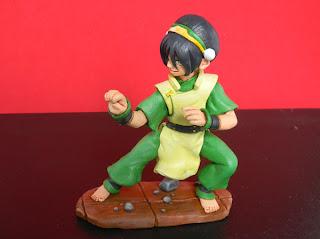 orme magiche toph dominatore terra last airbender manga action figures personalizzate cartoni