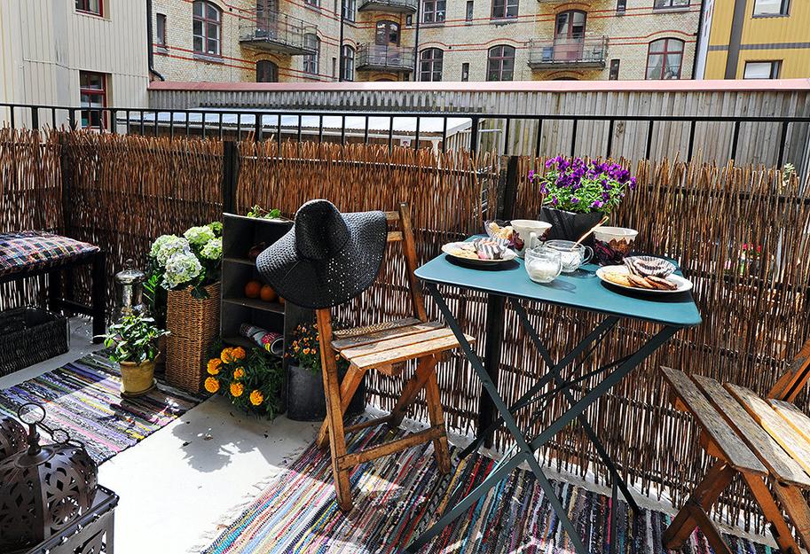 Дизайн маленького балкона: интересные идеи.