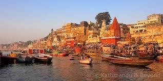 The Ghats Varanasi India