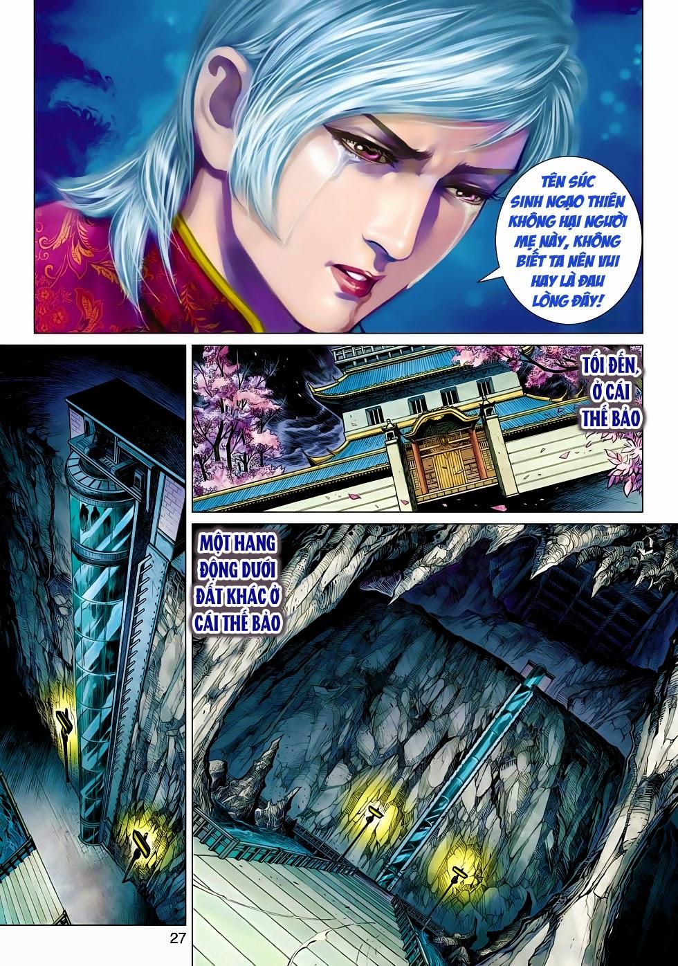 Tân Tác Long Hổ Môn chap 470 - Trang 27