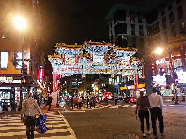 Chinatown in Washington DC.