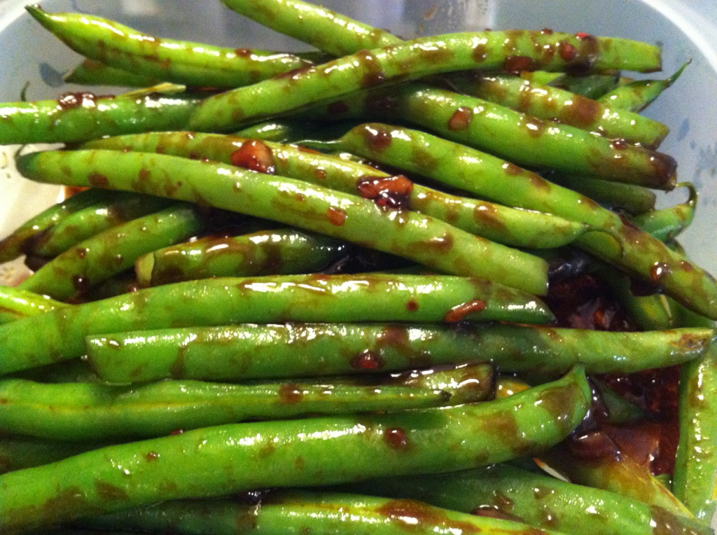 garlic green beans green bean casserole asian chinese style green ...