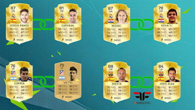 Los mejores Links Perfectos FIFA 16 Ultimate Team, best strong links FUT 16