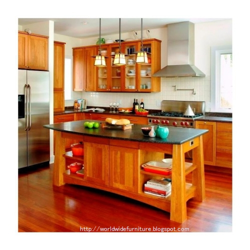 all about home decoration & furniture: kitchen design and style