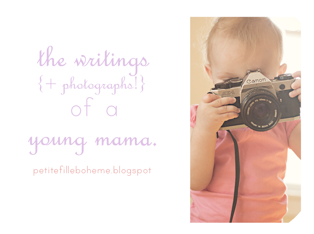 the writings of a young mama ♥