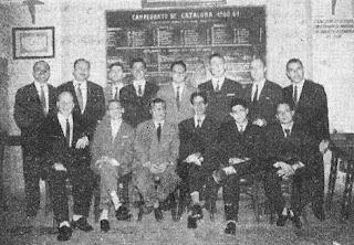 Club Ajedrez Español – Campeón catalán Temporada 1960-61