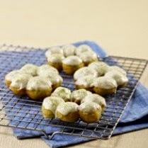 Resep Cara Membuat Greentea Cown Doughnut