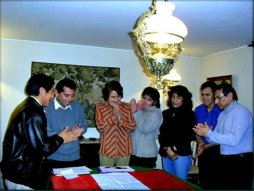 """Memorable fundación del Grupo Poético """"Puka Yuraq"""""""