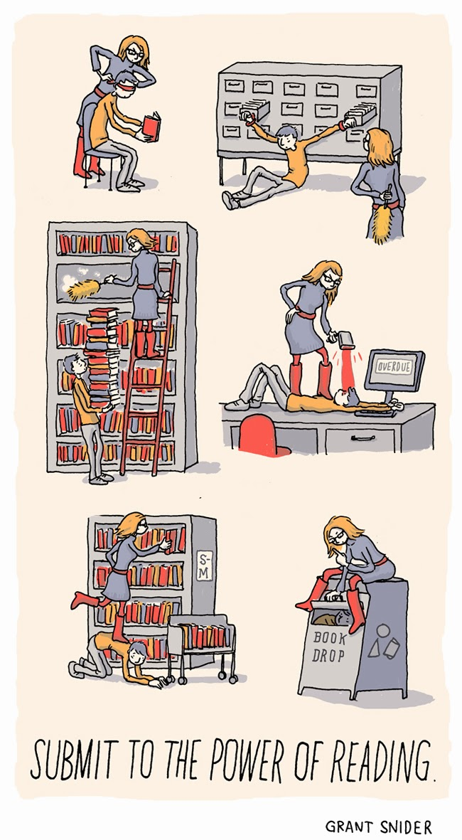 The Joy of Reading #2 from Grant Snider