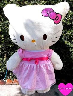 Gambar boneka hello kitty lucu murah