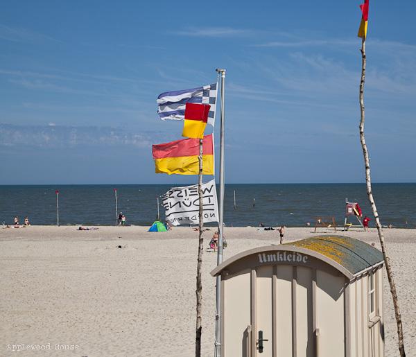 Norderney weisse Düne Strand