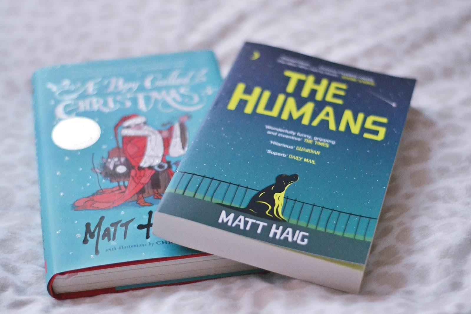 matt haig books a boy called christmas the humans
