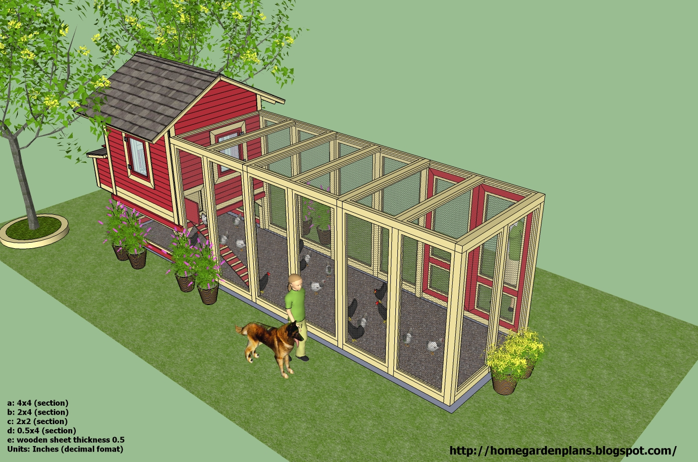 Diw you access chicken coop plan for 20 chickens for How to build a chicken hutch