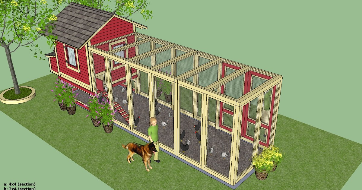 Printable chicken coop building plans guide coop channel for Is it easy to build a house
