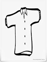 Mewarnai Gambar Baju Anak