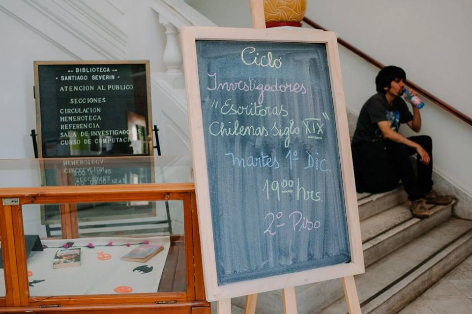 Ciclo Investigadoras Biblioteca Severín