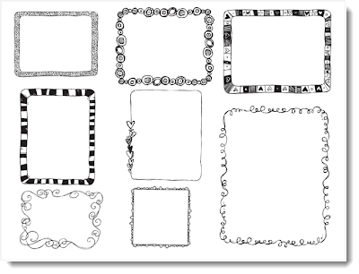 png doodle borders hello literacy blog