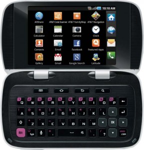 Unique QWERTY Android Phone With Two Screens