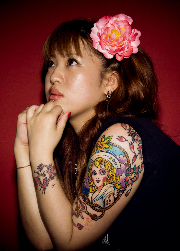 Japanese Tattoo Girls