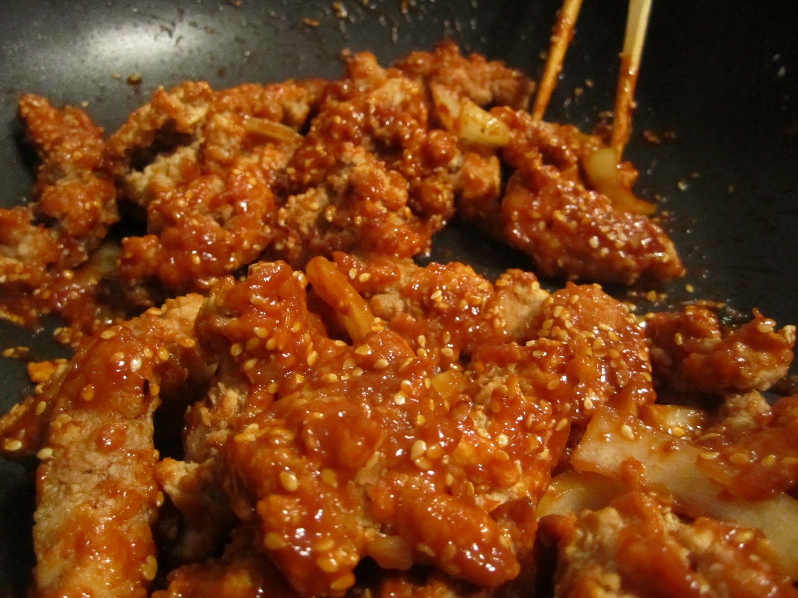 Tong dak: Korean fried chicken
