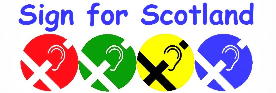 Sign for Scotland