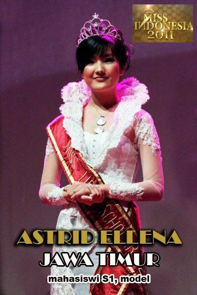 foto Foto Miss Indonesia 2011, Astrid Ellena