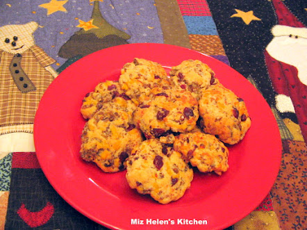 Cranberry Sausage Biscuit