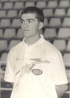 Paco García. JUVER Murcia 1.987