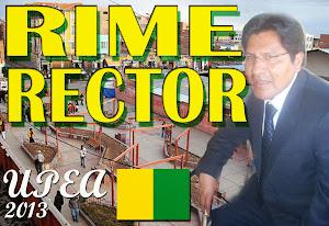 Rime Rector 2013: