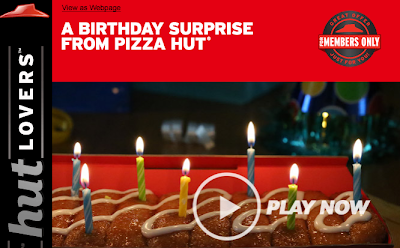 pizza hut birthday freebie coupon